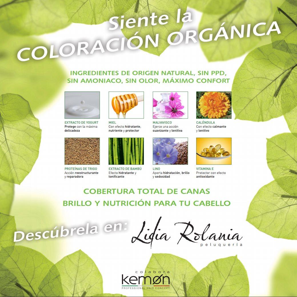 coloración orgánica